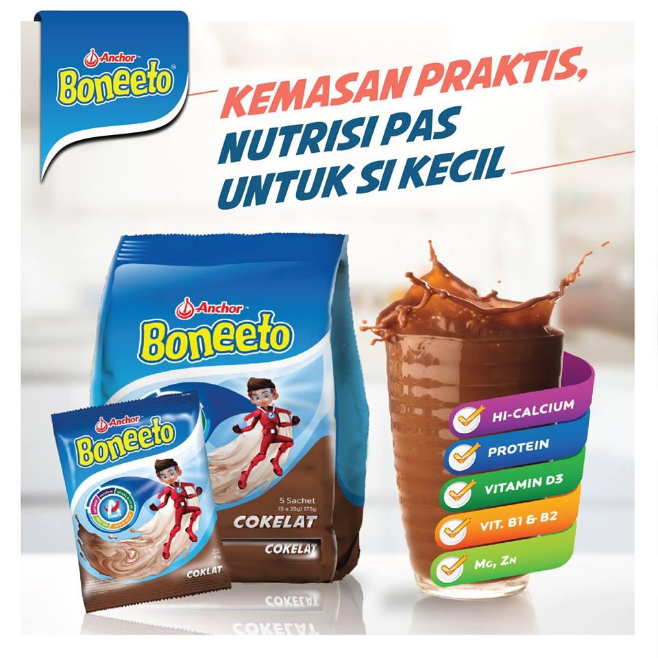 Daftar Harga susu Boneeto dan Manfaatnya Terbaru 2017